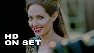 Download Maleficent: Behind the Scenes Complete Broll - Angelina Jolie, Elle Fanning Video