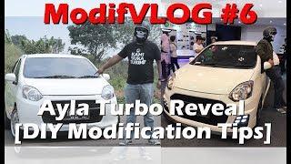 Download modifVLOG #6 Ayla Turbo Reveal [DIY Modification Tips] Video