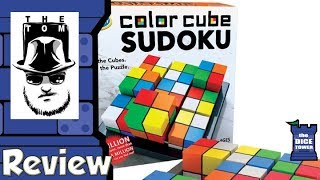 Download Color Cube Sudoku Review - with Tom Vasel Video