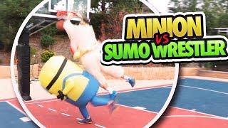 Download BASKETBALL 1V1 MINION VS. SUMO WRESTLER!! ft. JesserTheLazer Video