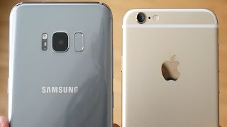 Download Galaxy S8 Plus vs iPhone 6! - Speed Test Video