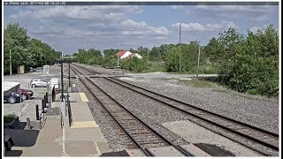Download La Plata, Missouri USA - Virtual Railfan LIVE Video