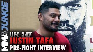 Download UFC 247: Justin Tafa full pre-fight interview Video