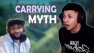 Download TSM MYTH GETS CARRIED BY DAEQUAN - (Fortnite Battle Royale) Video