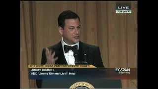 Download Jimmy Kimmel Roasting at the 2012 White House Correspondents' Dinner Video