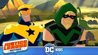Download Justice League Action   Booster's Dinosaur Park   DC Kids Video