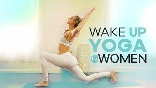 Download Beginner Morning Yoga for Women | 10-Min | Energizing Wake Up Vinyasa Flow Video
