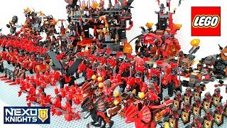 Download Epic LEGO Nexo Knights Lava Monsters Army Build w/ Jestro General Magmar Lavaria Video