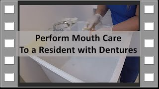 Download Perform Denture Care CNA Skill NEW Video
