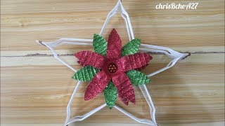 Download DIY# 71 Christmas Lantern / Parol Made Of Recycled Plastic Fork #1 Video