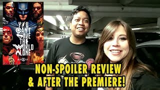 Download Justice League Premiere NON-SPOILER Review And After The Premiere! Video