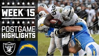 Download Raiders vs. Chargers | NFL Week 15 Game Highlights Video