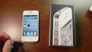 Download White iPhone 4 (16GB) unboxing Video