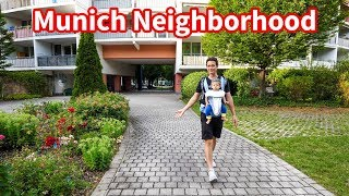 Download Munich Neighborhood Tour - Living in Germany, Supermarket, Parks, and Beer Garden! Video