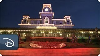 Download Time-Lapse: Magic Kingdom Park Transforms for Christmas Video