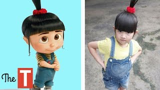Download 10 DESPICABLE ME Characters In Real Life Video