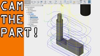 Download Fusion 360 Beginner CAM Tutorial! FF63 Video