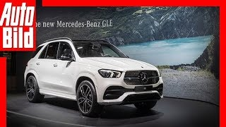 Download Mercedes GLE (Paris 2018) Sitzprobe / Messe / Review Video