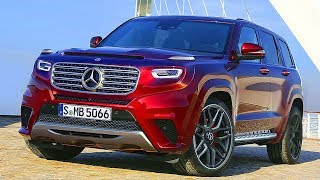 Download 2020 Mercedes GLG brutal SUV Video