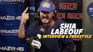 Download #1 MC in Hollywood: Shia LaBeouf Freestyles 5 Fingers of Death with Oswin Benjamin Video