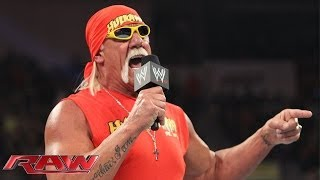 Download The immortal Hulk Hogan returns to Monday Night Raw: Raw, Feb. 24, 2014 Video