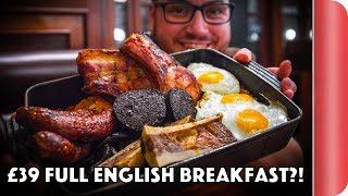 Download London's Best Full English Breakfast?! (At 3 Price Points) Video