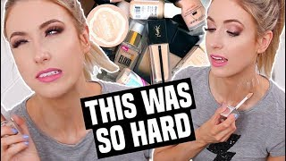 Download MAKEUP I'M THROWING OUT (& What I'm Keeping) || FOUNDATION DECLUTTER Video