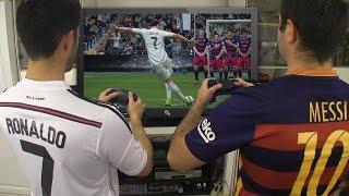 Download Cristiano Ronaldo vs. Messi - Play FIFA 17 | In Real Life! Video