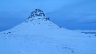 Download Kirkjufellfoss and Mt. Kirkjufell in Winter Video