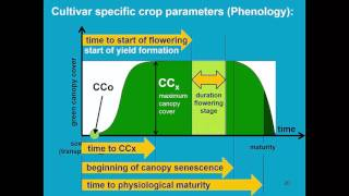 Download Crop parameters Part 2 AquaCrop - Training module Nr. 4.1 (Unit 4. Crop), April 2016 Video