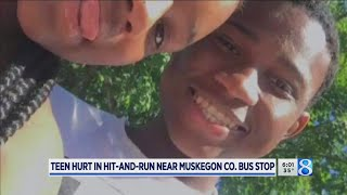 Download Teen injured in hit-and-run north of Muskegon Video