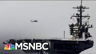 Download Trump Admin. Tries To Clarify Statements On US Warships To Korean Peninsula | Morning Joe | MSNBC Video