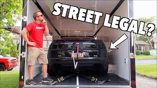 Download Is My 1200hp Straight Piped Drag Car Actually STREET LEGAL!? Video
