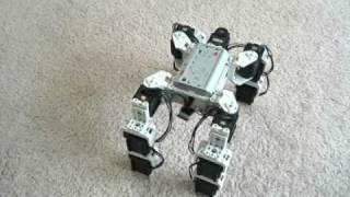 Download Walking Quadruped Robot (Bioloid) Video