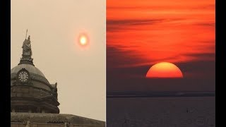 Download NASA Press Release: Evidence of Planet X is Mounting-Sky Turns Red in Europe-Fire and Fury on Earth Video