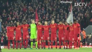 Download Minuto de silêncio no Anfield em homenagem à Chapecoense e outras vítimas Video