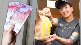 Download Tipping McDonald's Workers £1000 For The Best Cheeseburger Video