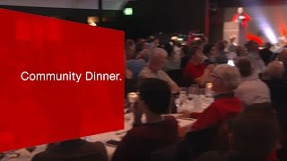 Download SBB Mobile Community Dinner. Video
