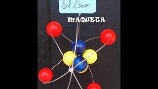 Download MAQUETA DEL ÁTOMO FÁCIL DE HACER.ATOM MODELO PARA FAZER FÁCIL.modelo atómico de Rutheford. Video