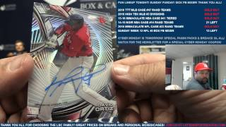 Download 2016 Topps High Tek Baseball 12 Box Case Break #5 Divisions Video