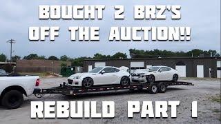 Download Rebuilding a Wrecked 2016 Subaru BRZ Video