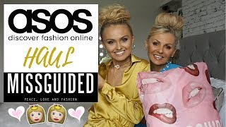 Download ASOS Haul with my MUM!!! 👭❤️ & Missguided try on Haul ✨ Video
