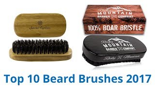 Download 10 Best Beard Brushes 2017 Video