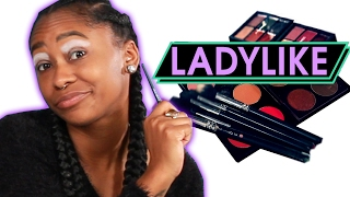 Download Women Try Extreme Runway Makeup • Ladylike Video