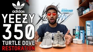 Download Yeezy 350 Turtle Dove Restoration Tutorial with Vick Almighty Video