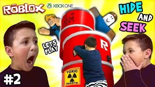 Download Let's Play ROBLOX #2: Hide and Seek Extreme w/ Mike (FGTEEV Xbox One Gameplay / Skit) Video