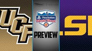 Download Fiesta Bowl Preview: UCF vs LSU | Stadium Video