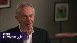 Download EXCLUSIVE: Tony Blair on Brexit - BBC Newsnight Video