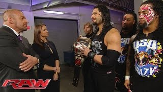 Download The Authority raises the stakes for Roman Reigns: Raw, November 30, 2015 Video