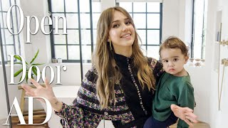 Download Inside Jessica Alba's $10M Los Angeles Home | Open Door | Architectural Digest Video